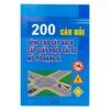200 Câu Hỏi Dùng Cho Sát Hạch Cấp Giấy Phép Lái Xe Cơ Giới Đường Bộ
